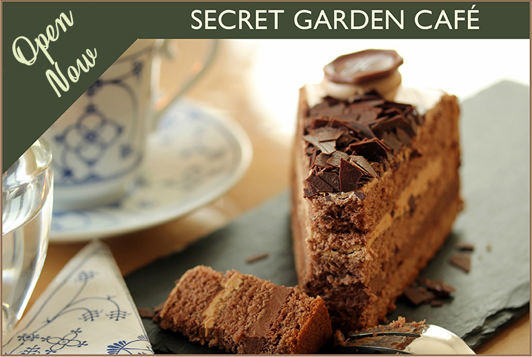 Recently Refurbished Secret Garden Cafe - Thorngrove Garden Centre Dorset