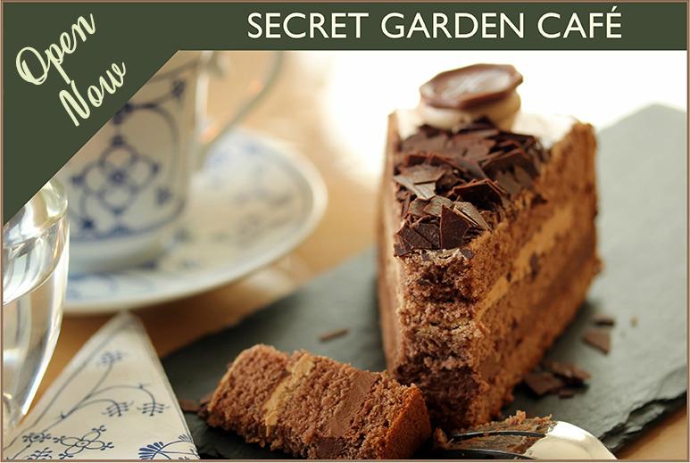Recently Refurbished Secret Garden Cafe - Thorngrove Garden Centre Dorset